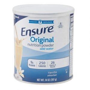 Sữa Ensure Mỹ (hộp 400g), món quà sức khỏe ý nghĩa cho người lớn tuổi