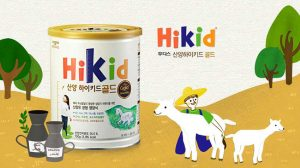 Giới thiệu về sữa Hikid dê của Hàn