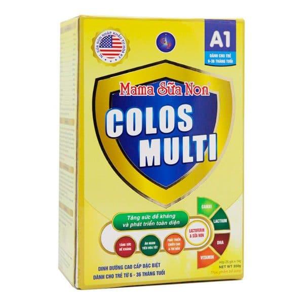 Mama sữa non Colos Multi A1 [Hộp 25 gói x 14g]