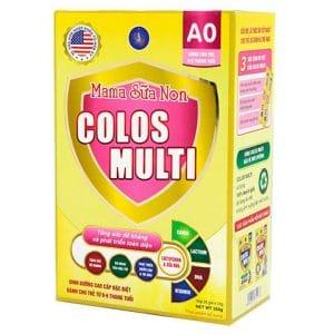 Mama sữa non Colos Multi A0 [HỘP 22 GÓI X 16G]