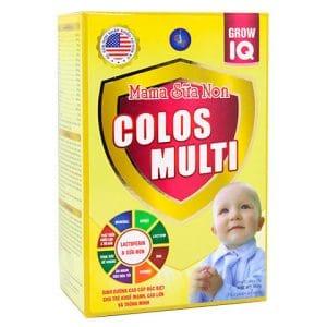 Mama Sữa Non Colos Multi Grow IQ [Hộp 22 gói x 16g]