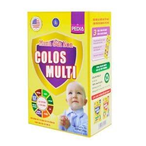 Mama Sữa Non Colos Multi Pedia [Hộp 22 gói x 16g]