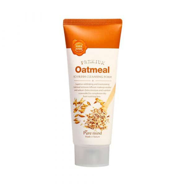Premium Oatmeal so fresh cleansing foam