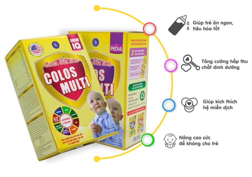 Mama sữa non Colos Multi có tốt không? giá bao nhiêu?