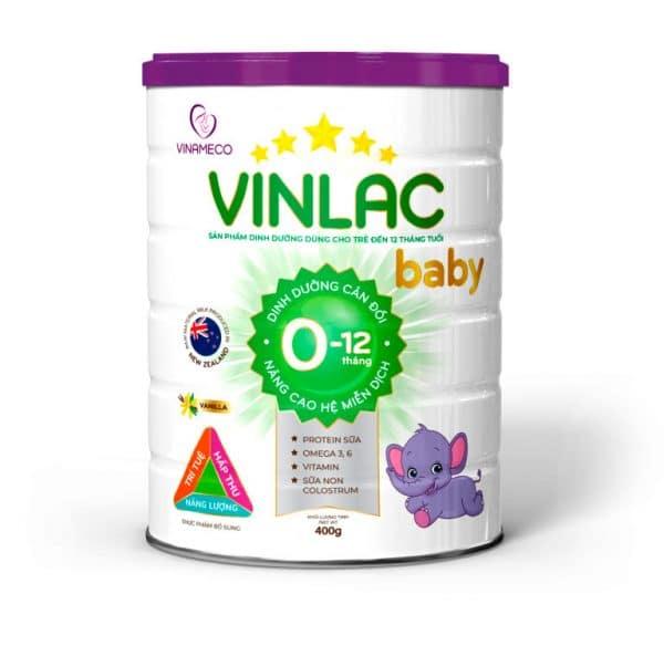 Sữa Vinlac Baby [Hộp 400g]