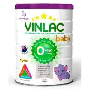 sữa vinlac baby dành cho bé từ 0-12 tháng tăng cân và tăng chiều cao