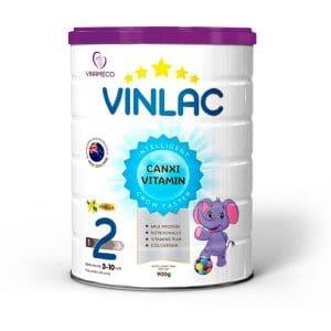 Sữa Vinlac 2 [Hộp 900g]