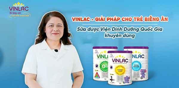 thành phần và công dụng của sữa vinlac baby